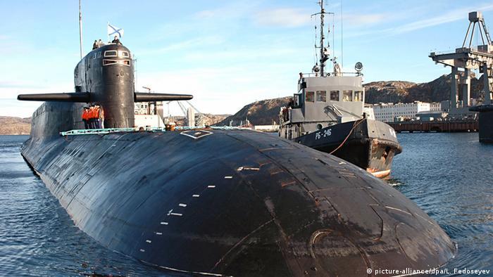 Russland Atom-U-Boot Jekaterinburg (picture-alliance/dpa/L. Fedoseyev)
