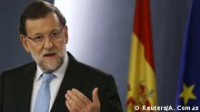Spanien Premierminister Mariano Rajoy in Madrid,