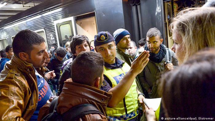 Schweden Vorübergehende Grenzkontrollen