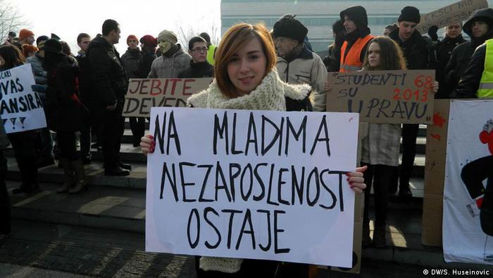 Protest studenanta u Sarajevu