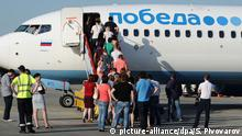 Russland Pobeda Airlines