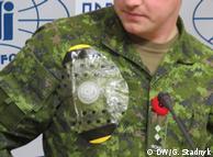 Медичне обладнання від Канади на солдаті (архівне фото)