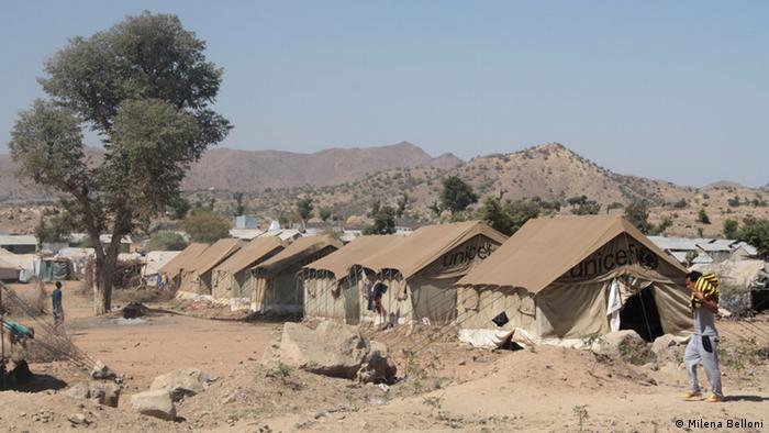 UN-Flüchtlingscamp in der Region Tigray in Äthiopien