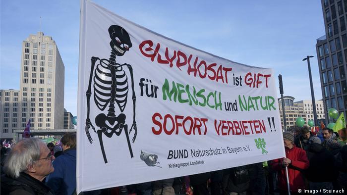 Demo gegen Glyphosat Foto: Imago / Steinach
