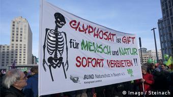 Manifestación en Berlín contra el glifosato.