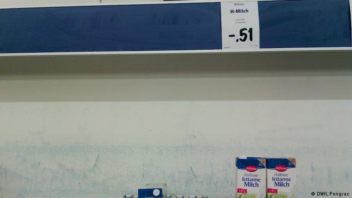 Milch DE Preis bei Lidl in Deutschland
