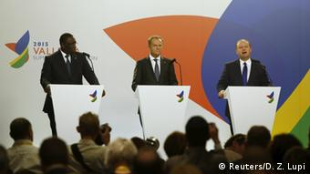 The final press conference at the Valletta Summit