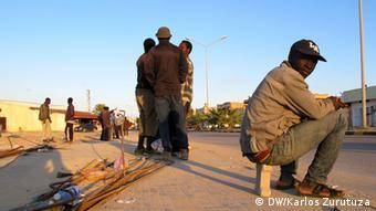 Flüchtlinge in Lybien