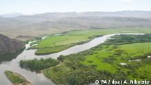 26.07.2013*** ITAR-TASS: TUVA, RUSSIA. JULY 26, 2013. A river in a national nature reserve in Tuva (Tyva) in south-central Siberia. (Photo ITAR-TASS/ Alexei Nikolsky) ///Copyright: PA / dpa / A. Nikolsky