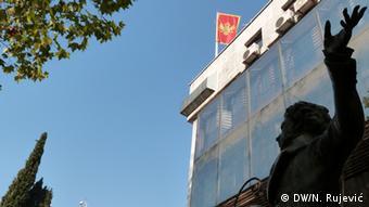 Montenegro Denkmal Alexander Puschkin