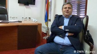 Slaven Radunović, član opozicije u Crnoj Gori