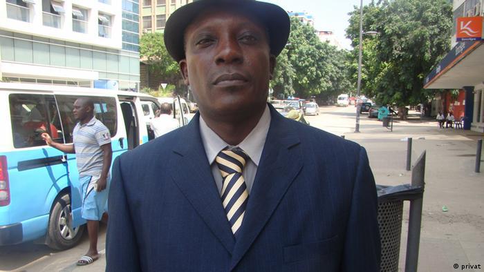 Angola José Mateus Zecamutchima EINSCHRÄNKUNG