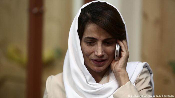 Иранская правозащитница отказалась выходить под залог