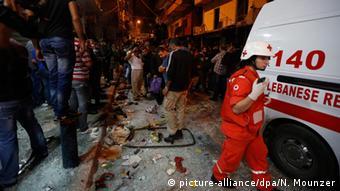 Anschlag Beirut Libanon