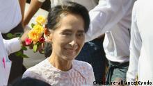 Myanmar Parlamentswahl Sieg Aung San Suu Kyi