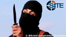 Irak Syrien Terrorist IS-Mörder Dschihadi John