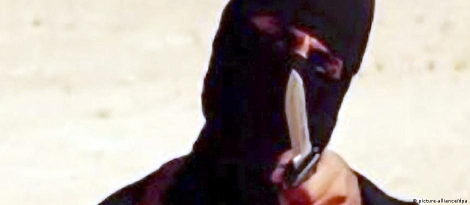 """""""Jihadi John"""" apareceu em vários vídeos de decapitações de cidadãos ocidentais"""