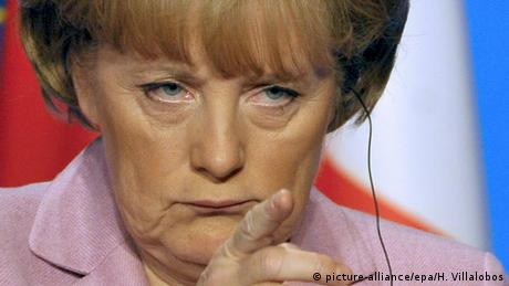 Merkel at the Paris summit during the 2008 euro crisis