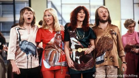 Abba 1978 (picture-alliance/dpa/Schilling)
