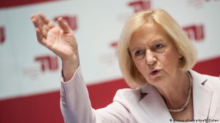Bundesbildungsministerin Johanna Wanka (Foto: dpa)