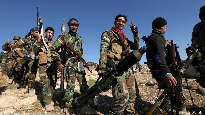 Irak Peschmerga in Sindschar
