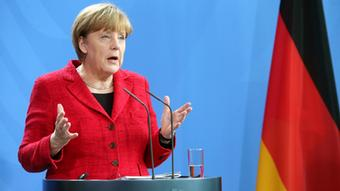 Bundeskanzlerin Merkel. Foto: Getty Images