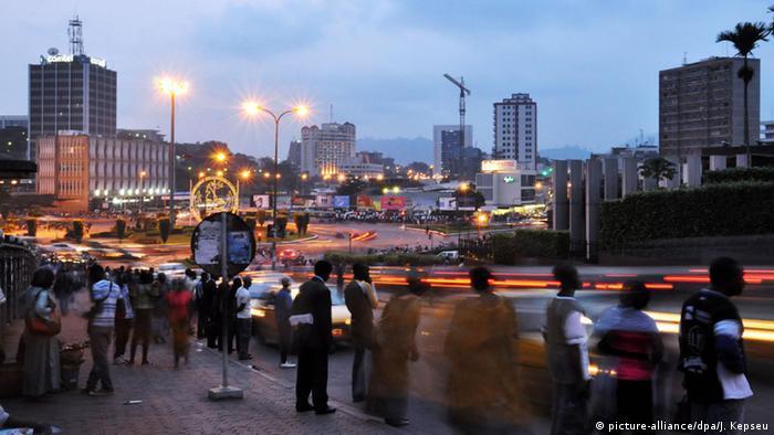 Kamerun Yaounde Stadtansicht
