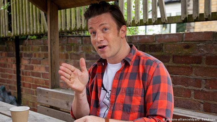 Jamie Oliver, Copyright: picture-alliance/dpa/D. Sandison