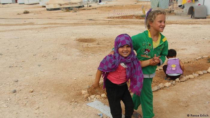 Jordanien Flüchtligslager Zatari Kinder