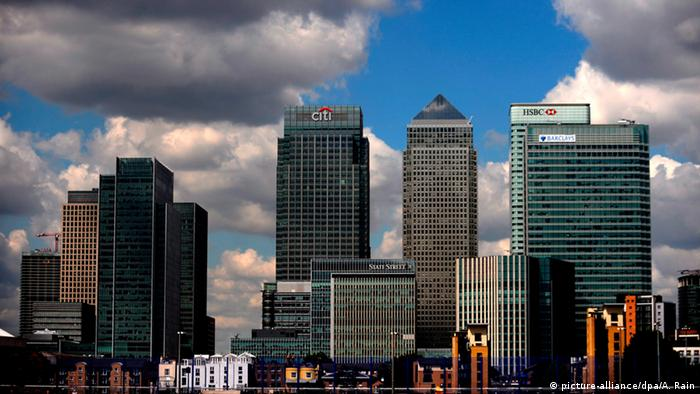 London's financial district (picture-alliance/dpa/A. Rain)
