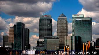England London Bankenviertel (picture-alliance/dpa/A. Rain)