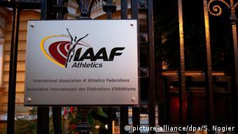 Weltverband IAAF Leichtathletik Doping Skandal Russland (picture-alliance/dpa/S. Nogier)