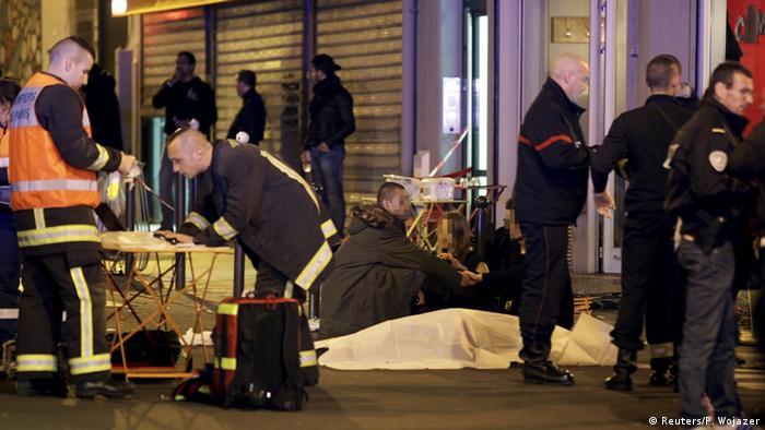 Frankreich Paris Schießerei Explosion bei Länderspiel