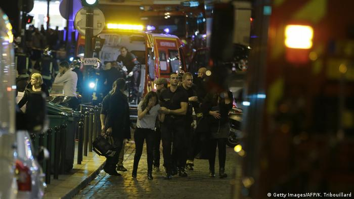 У Парижі сталась низка терактів