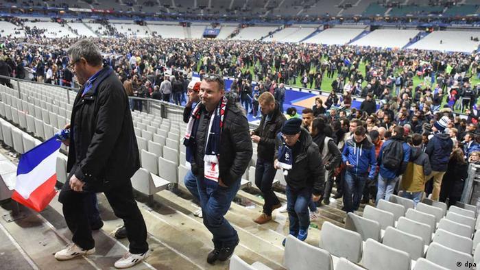 Paris Stade de France Zuschauer