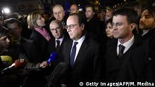 Frankreich Terror in Paris Hollande Bataclan
