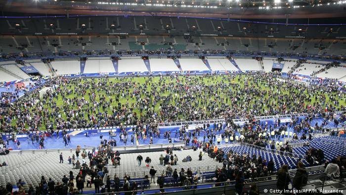 Frankreich Terror in Paris Stade de France