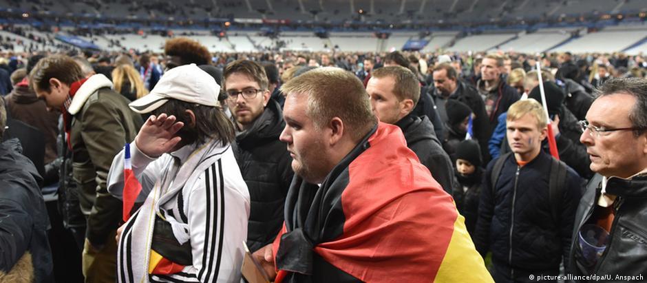 França e Alemanha disputavam amistoso em Paris na noite dos atentados de 13 de Novembro