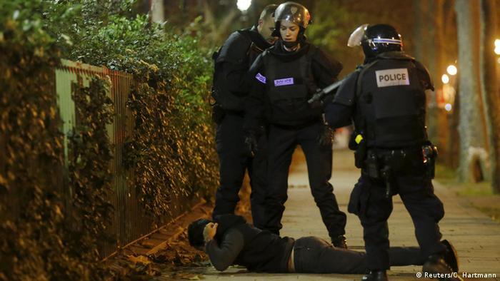 Frankreich Terror in Paris Polizeieinsatz