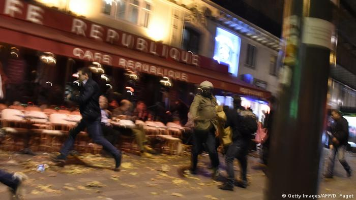 Frankreich Terror in Paris Explosion Place de la Republique QUALITÄT