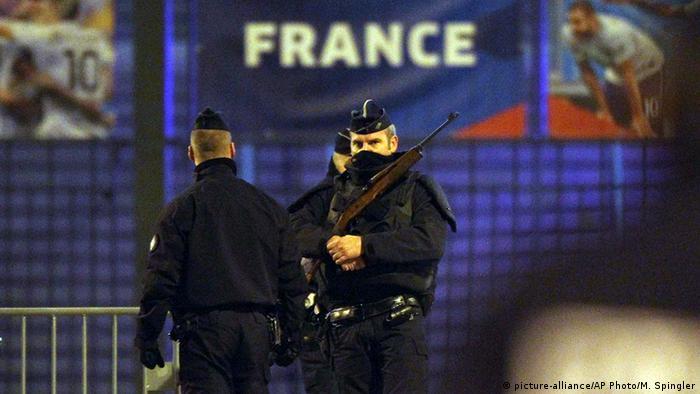 Frankreich Terror in Paris Stade de France Polizei