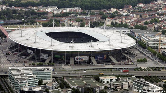 Luftbidl vom Stade de France (Foto: Reuters/R. Duvignau)
