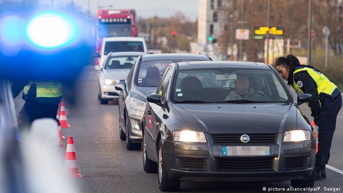 Досмотр транспорта в Париже после терактов