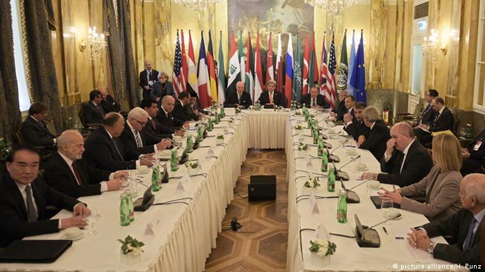 Syrien-Konferenz in Wien