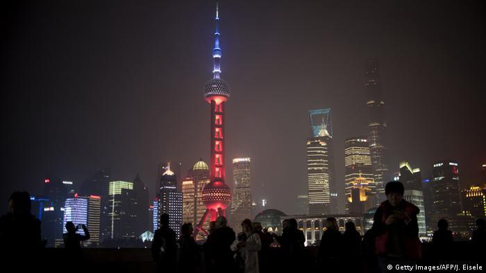 Телебашня Восточная жемчужина в Шанхае