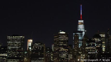 Solidaritätswelle für Frankreich New York USA