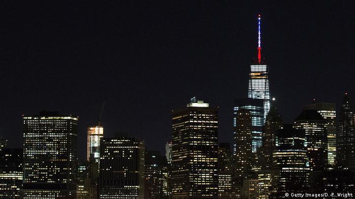 Всемирный торговый центр 1 в Нью-Йорке