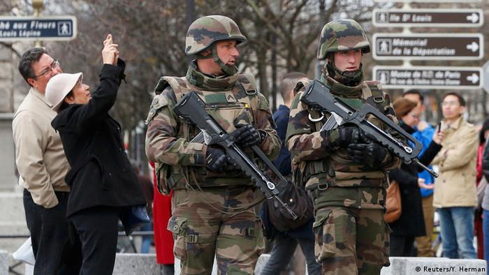 Frankreich Terroranschläge Militär