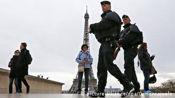 Frankreich Terroranschläge Polizei