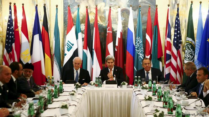 Syrien-Konferenz in Wien (Reuters/L. Foeger)